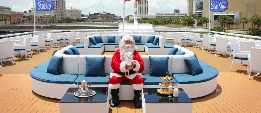 Santa Holiday Brunch Cruise Tampa Fl Dec 20 2015 1 30 Pm