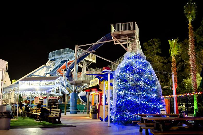 Winterfest At Adventure Landing Jacksonville Fl Nov 20
