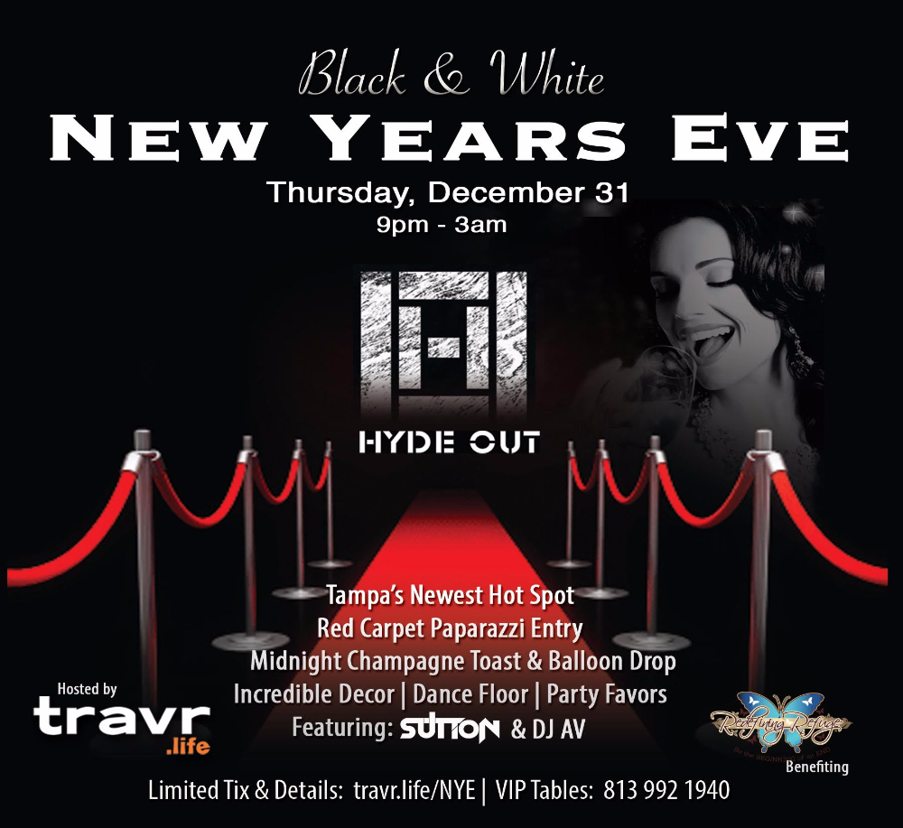 8th Annual Black & White New Year's Eve
