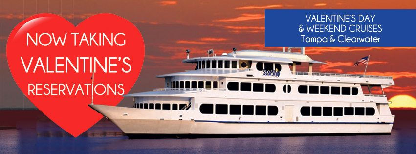 Valentines Weekend Late Dinner Cruise Tampa Tampa FL