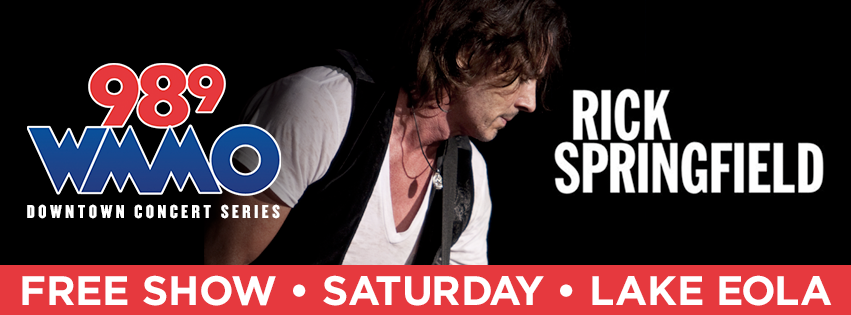 98.9 WMMO Downtown Concert Series with Rick Springfield