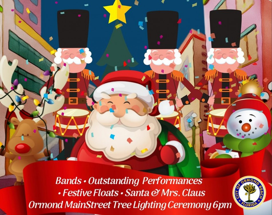 Ormond Beach Christmas Parade 2020 Ormond Beach Home for the Holidays Parade, Daytona Beach FL   Dec
