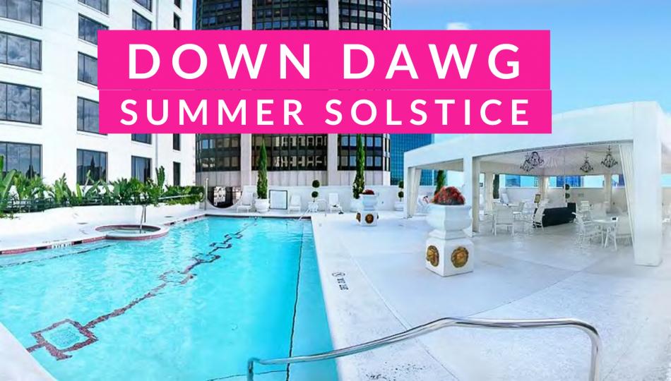 Pool Side Yoga + DJ