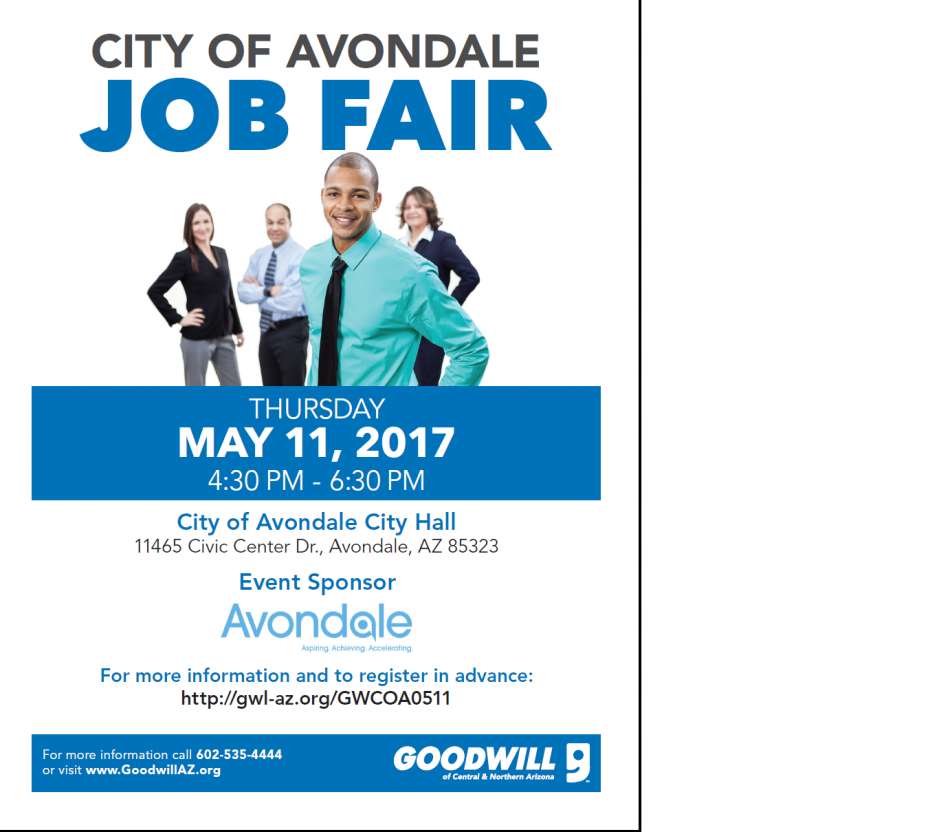 City of Avondale Job Fair