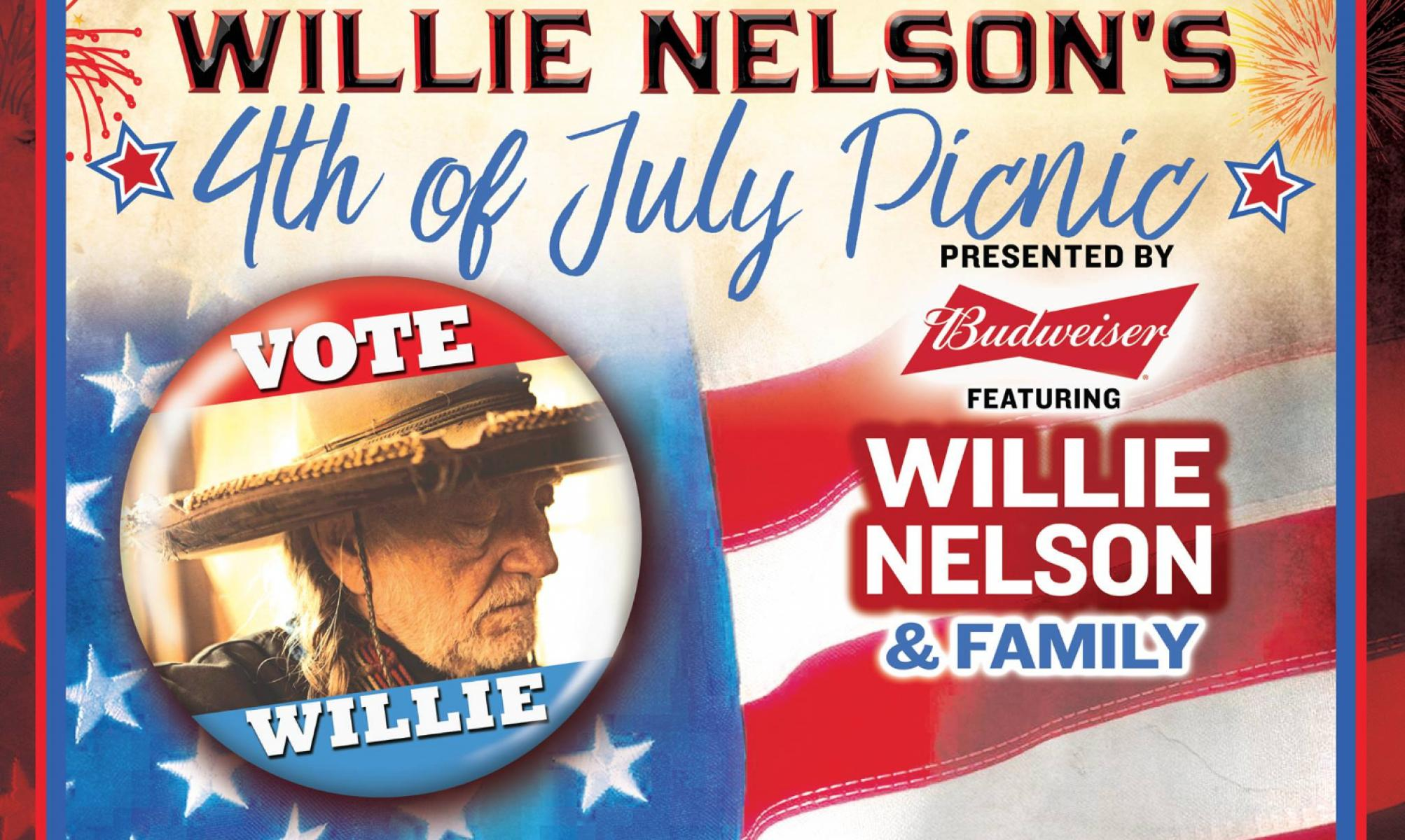 Willie Nelson S 4th Of July Picnic Austin Tx Jul 4