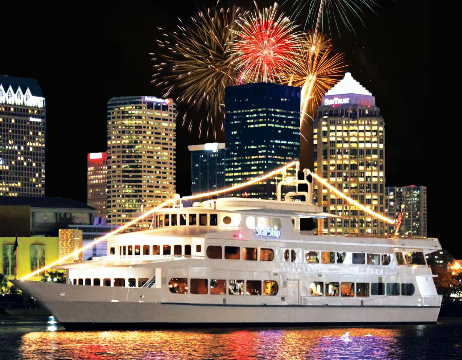 yacht starship fourth of july fireworks cruise tampa fl jul 4 2016 6 00 pm. Black Bedroom Furniture Sets. Home Design Ideas