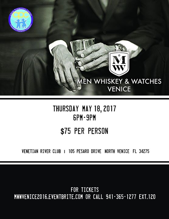 2nd Annual Men Whiskey & Watches- Venice