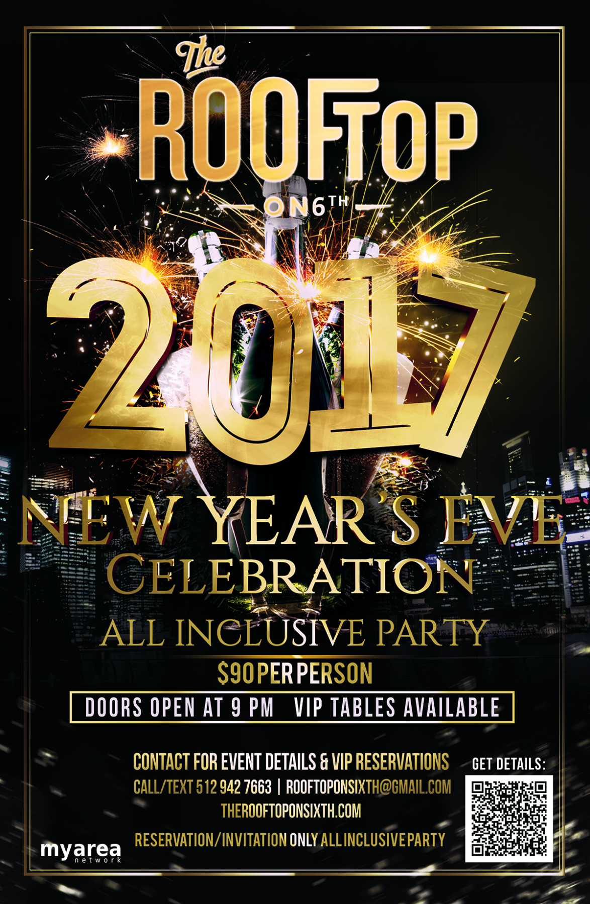 New Year's Eve 2017 VIP Party at The Rooftop on 6th ...