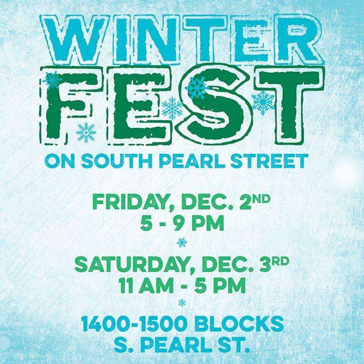 WinterFest On S. Pearl St., Denver CO