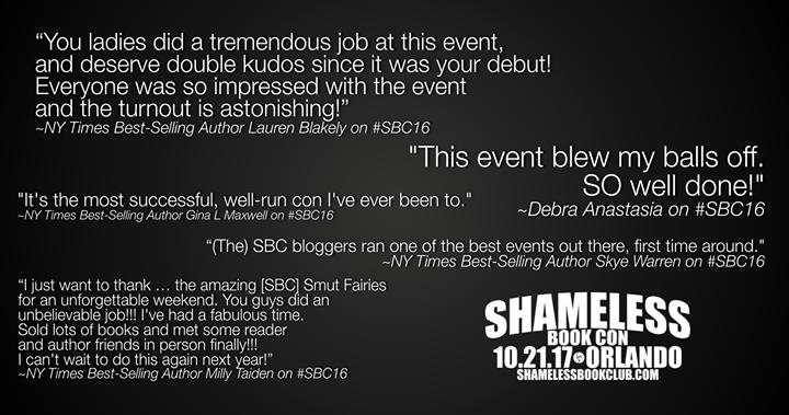 Shameless Book Con 2017 #Shameless