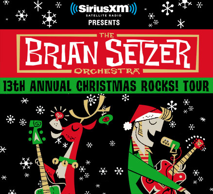 Brian Setzer Christmas Rocks Tour