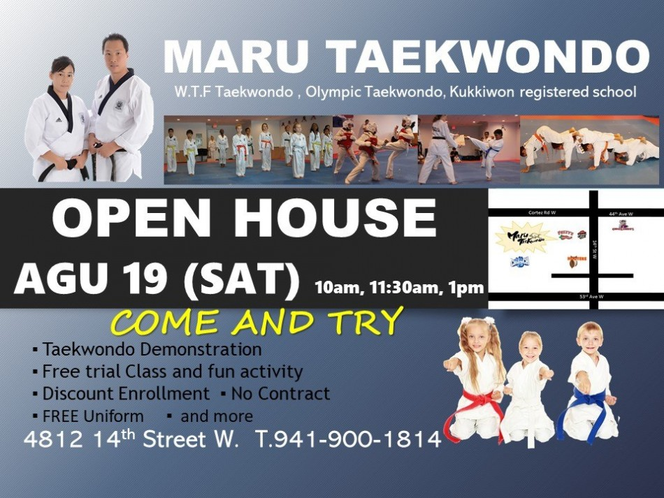 Maru Taekwondo Open House