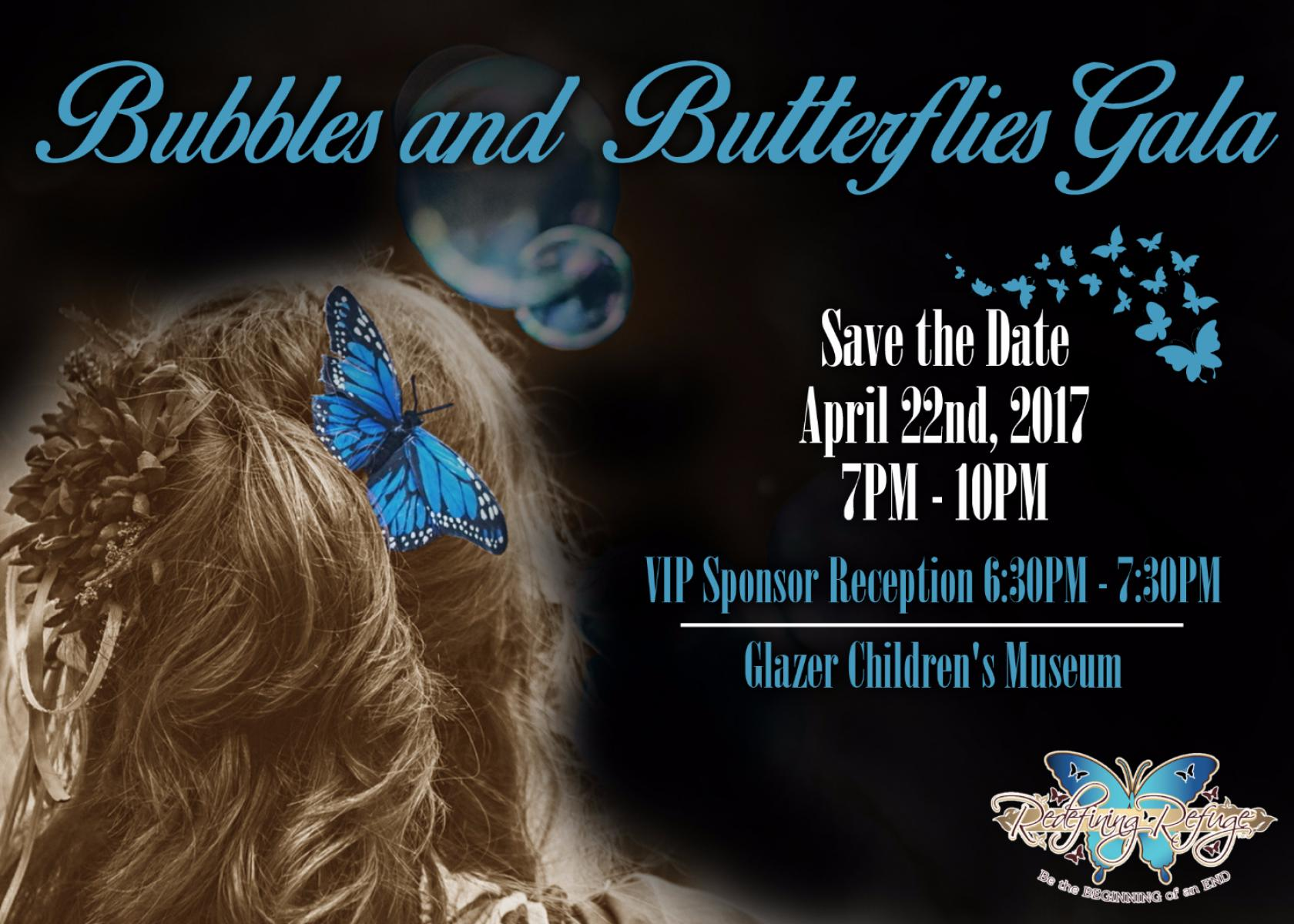 6th Annual Bubbles and Butterflies Gala