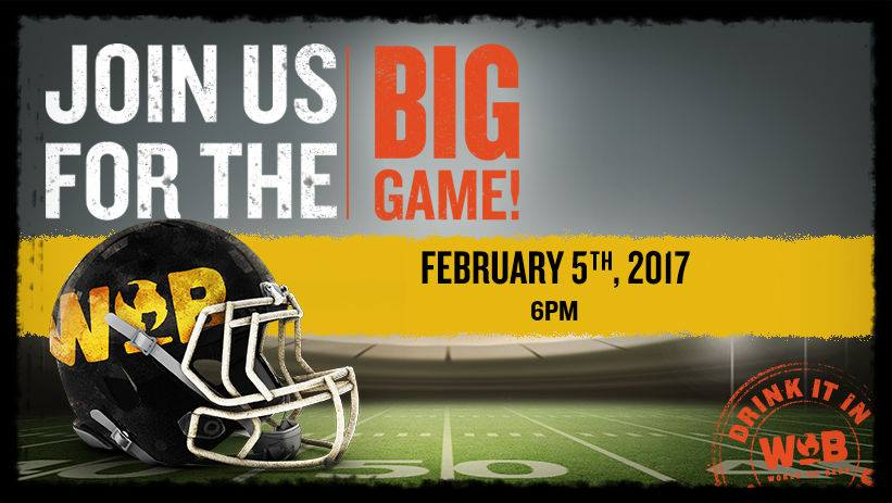 The BIG Game at World Of Beer