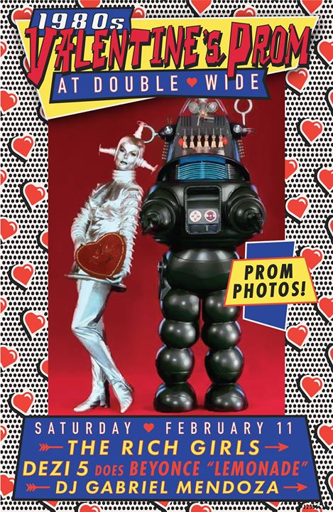 Double Wide's 1980s Valentine's Prom