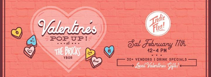 Valentine's Pop-Up at The Brick's