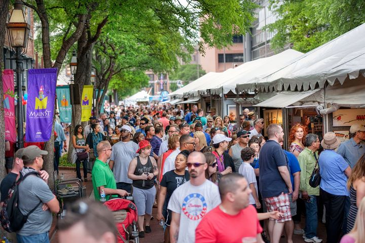2017 Main Street Fort Worth Arts Festival