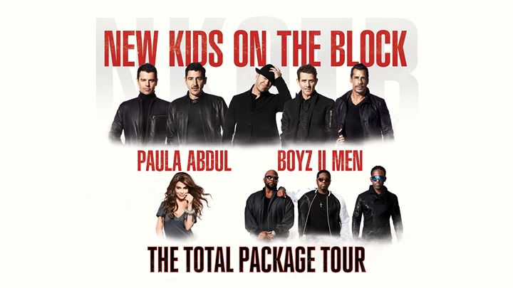 The Total Package Tour: NKOTB with Paula Abdul And Boyz II Men