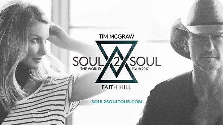 Tim McGraw & Faith Hill | Soul2Soul 2017 World Tour