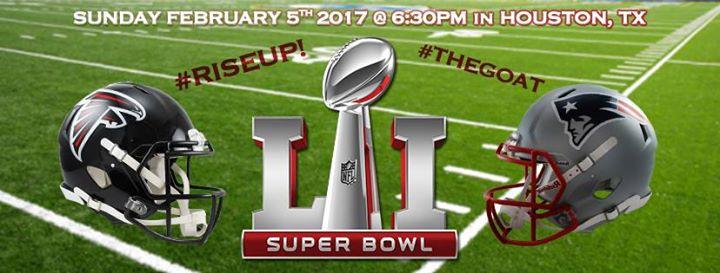 Super Bowl 51 Party!