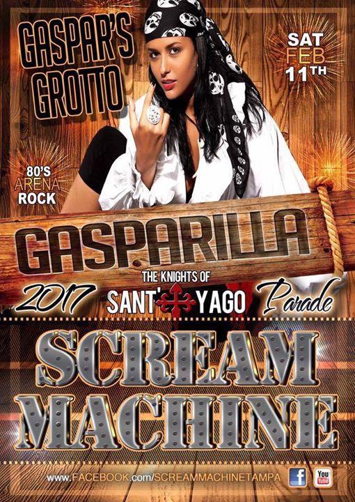 Scream Machine Band - Gaspar's Grotto - Knight Parade!