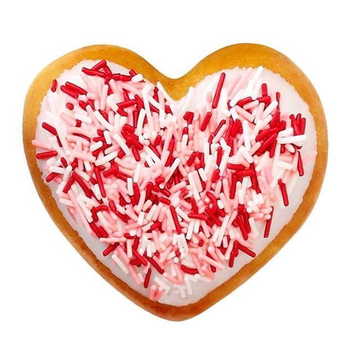 Heart Shaped Donuts