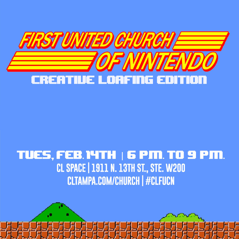 First United Church of Nintendo: Creative Loafing Edition