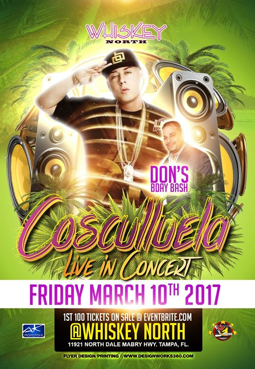 Cosculluela Live | Whiskey North