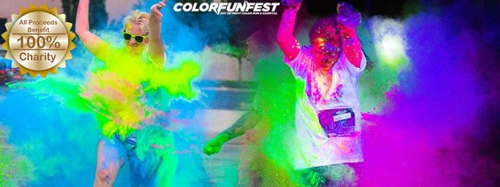 Color Fun Fest 5K Tampa | Day or Night Color Run