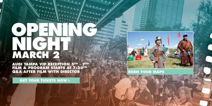 Opening Night at Suncoast Credit Union Gasparilla Film Festival