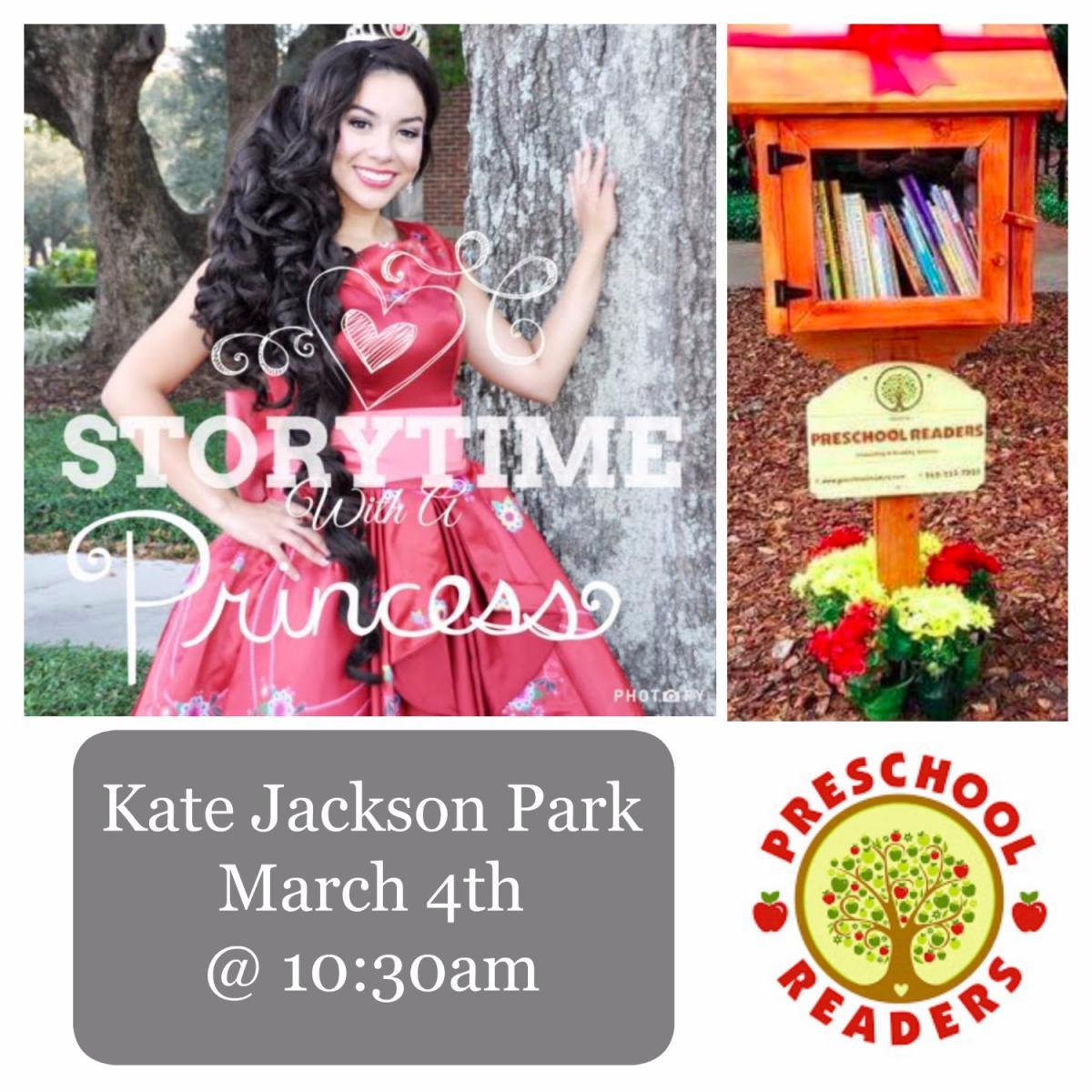 Preschool Readers Presents Storytime In The Park
