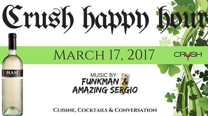 St Patrick's Day | Crush Happy Hour