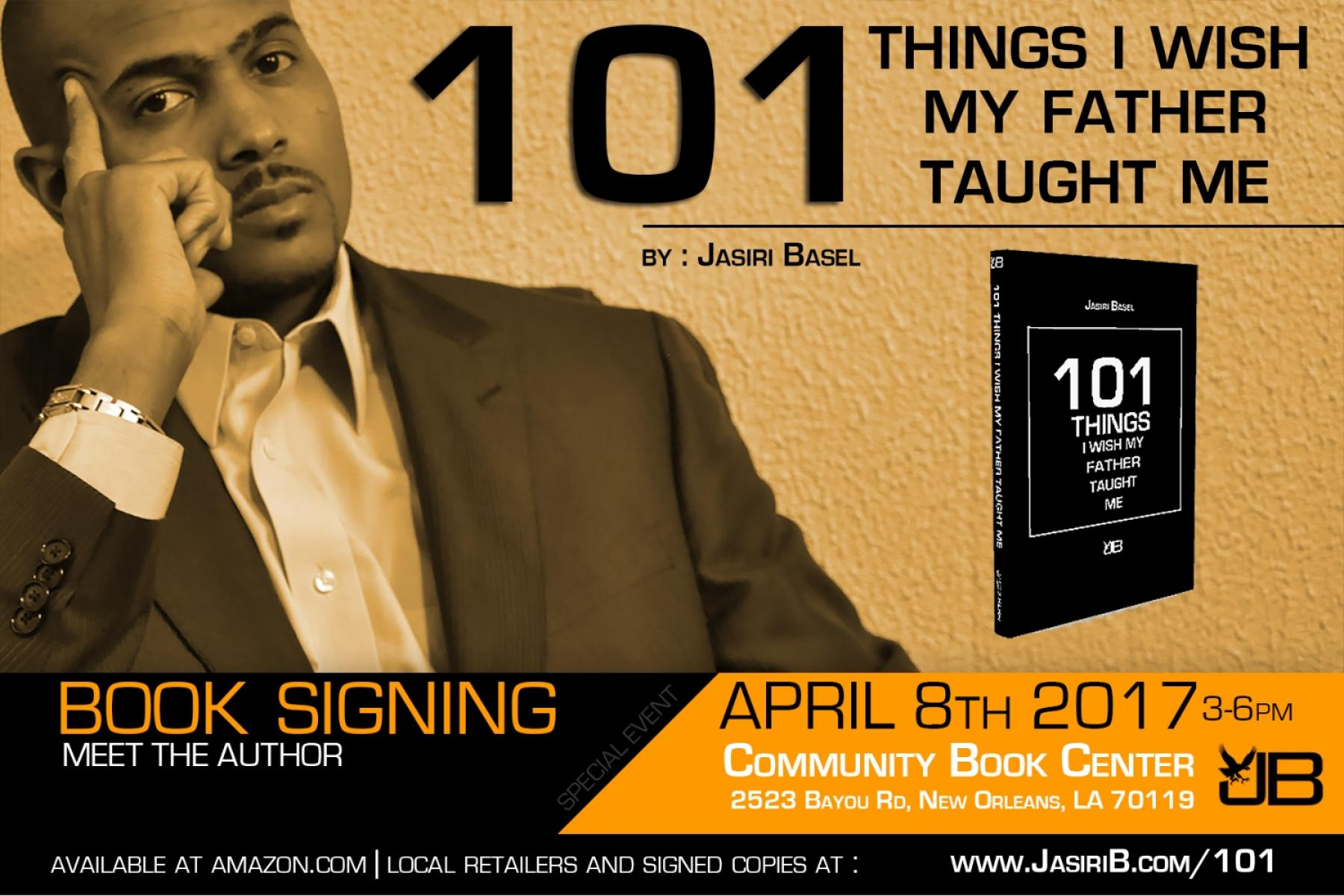 Jasiri Basel Book Signing and Meet the Author