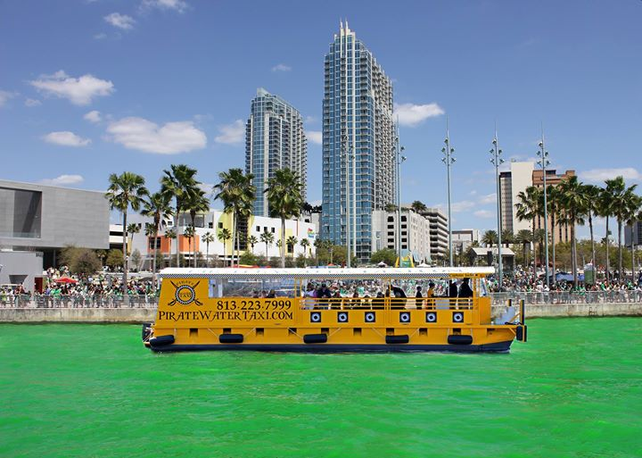 Pirate Water Taxi River O' Green Cruises