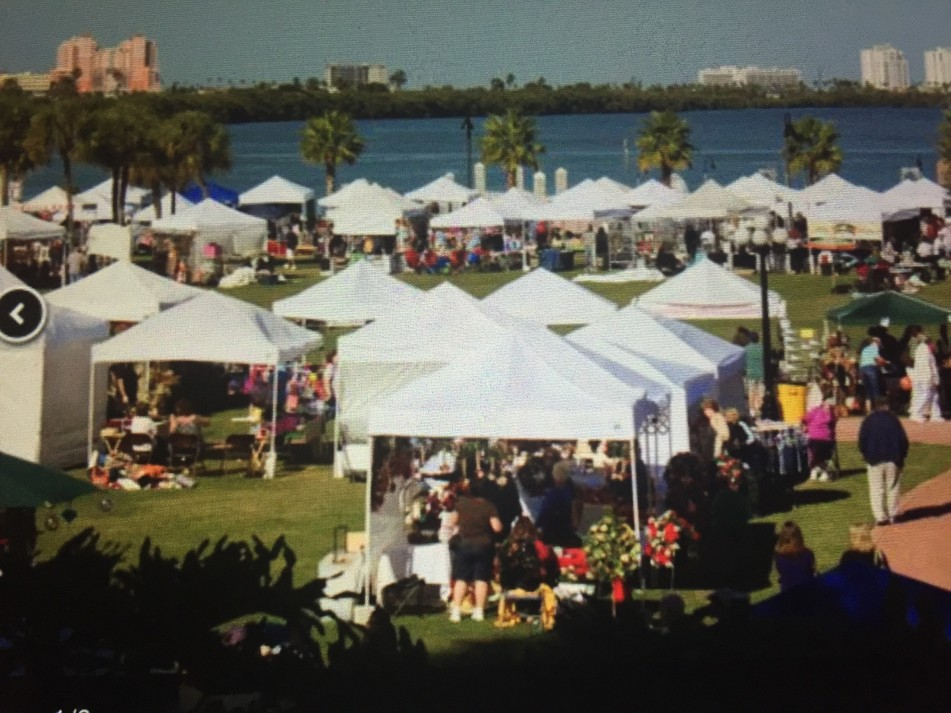 41st Annual Christmas Under the Oaks Arts & Crafts Show at Coachman Park, downtown Clearwater