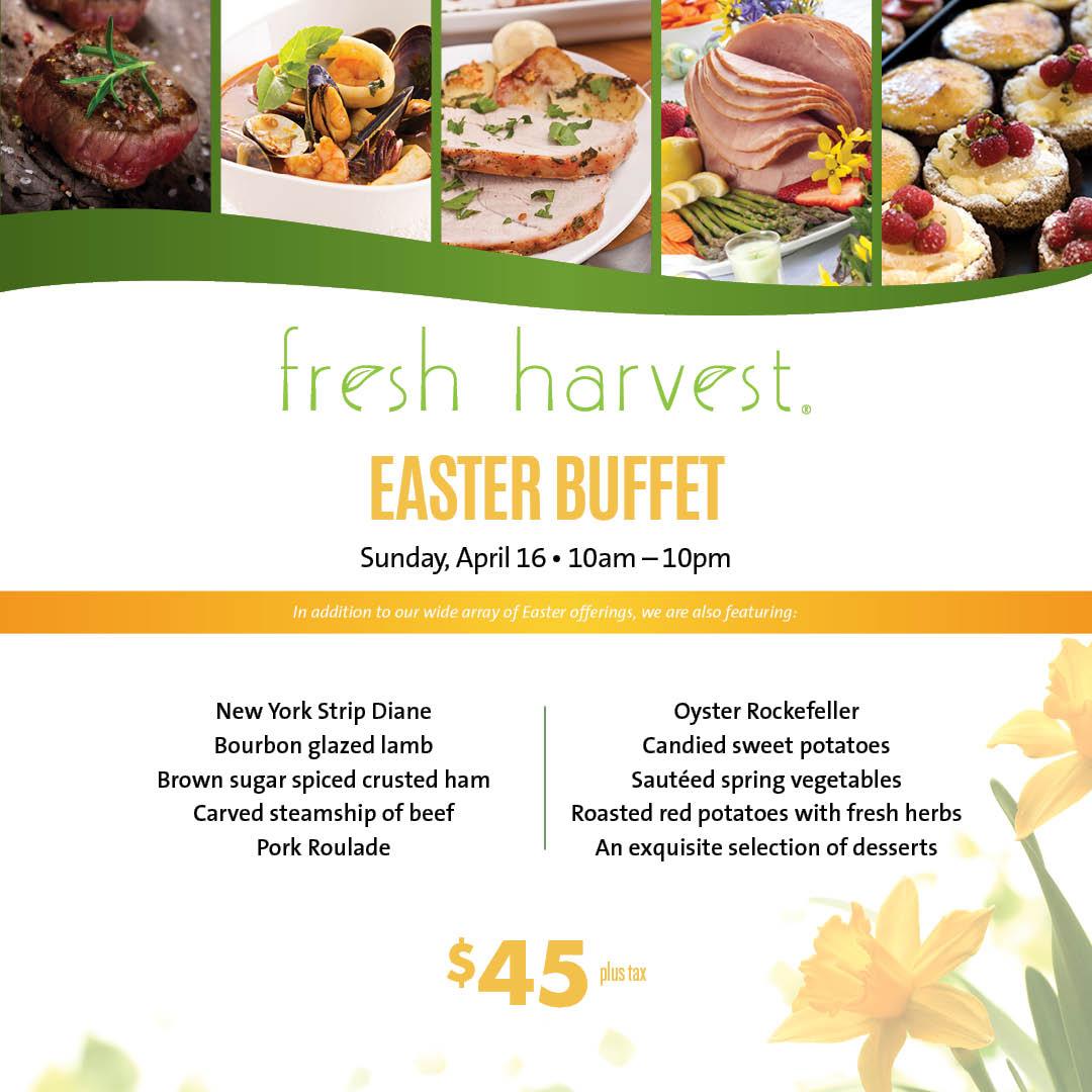 Brilliant Fresh Harvest Easter Buffet Tampa Fl Apr 16 2017 10 00 Am Download Free Architecture Designs Scobabritishbridgeorg