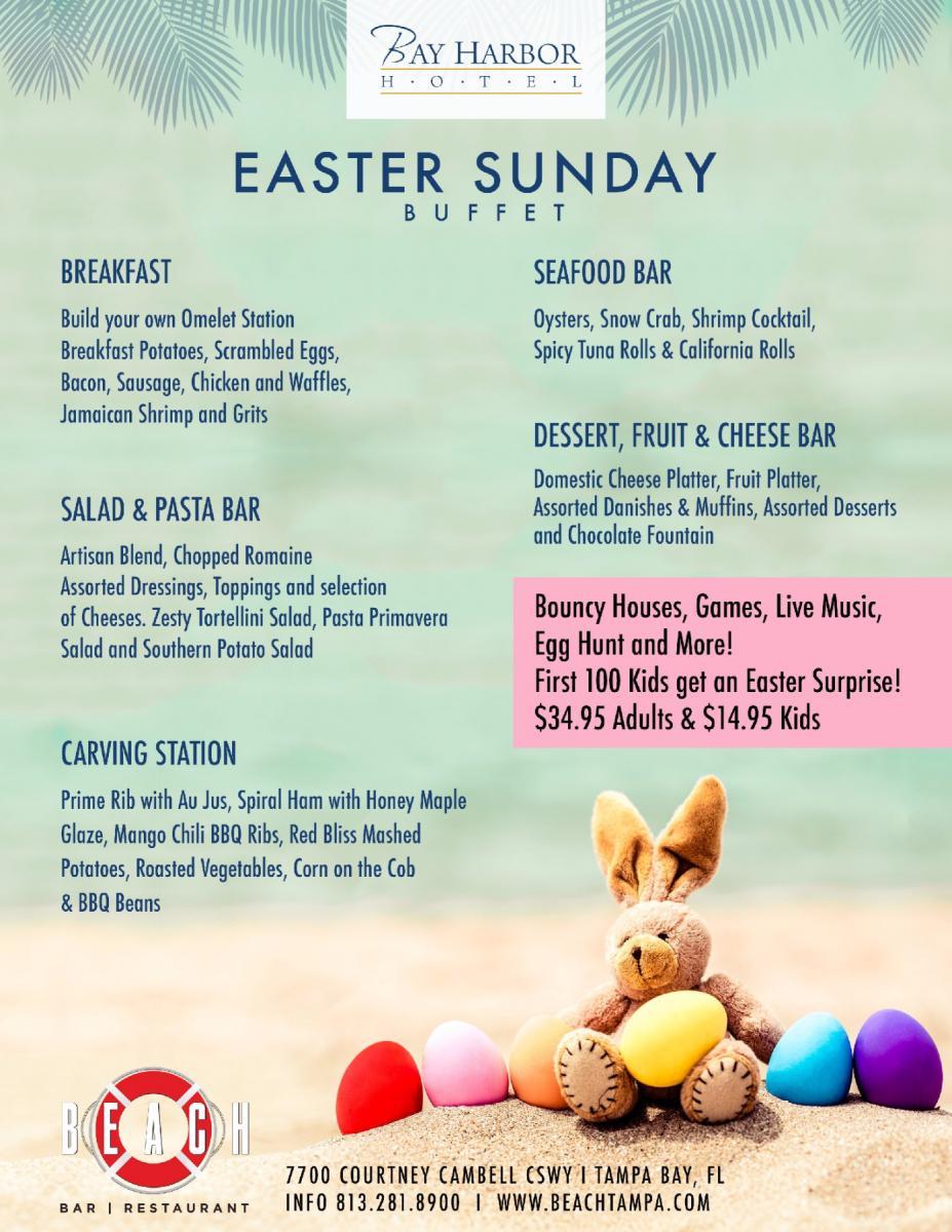 Easter Sunday | Beach Bar and Restaurant