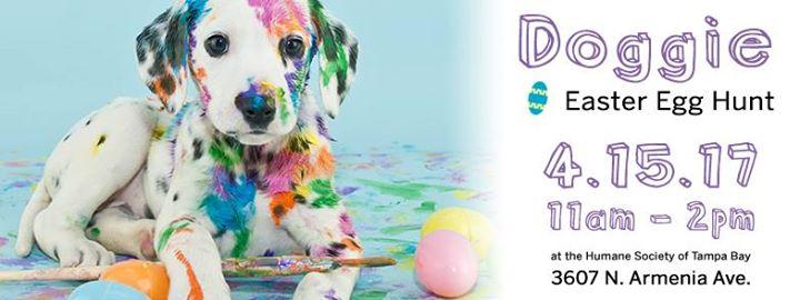 Humane Society Doggie Easter Egg Hunt