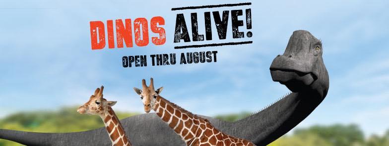 Dinos Alive | Lowry Park Zoo