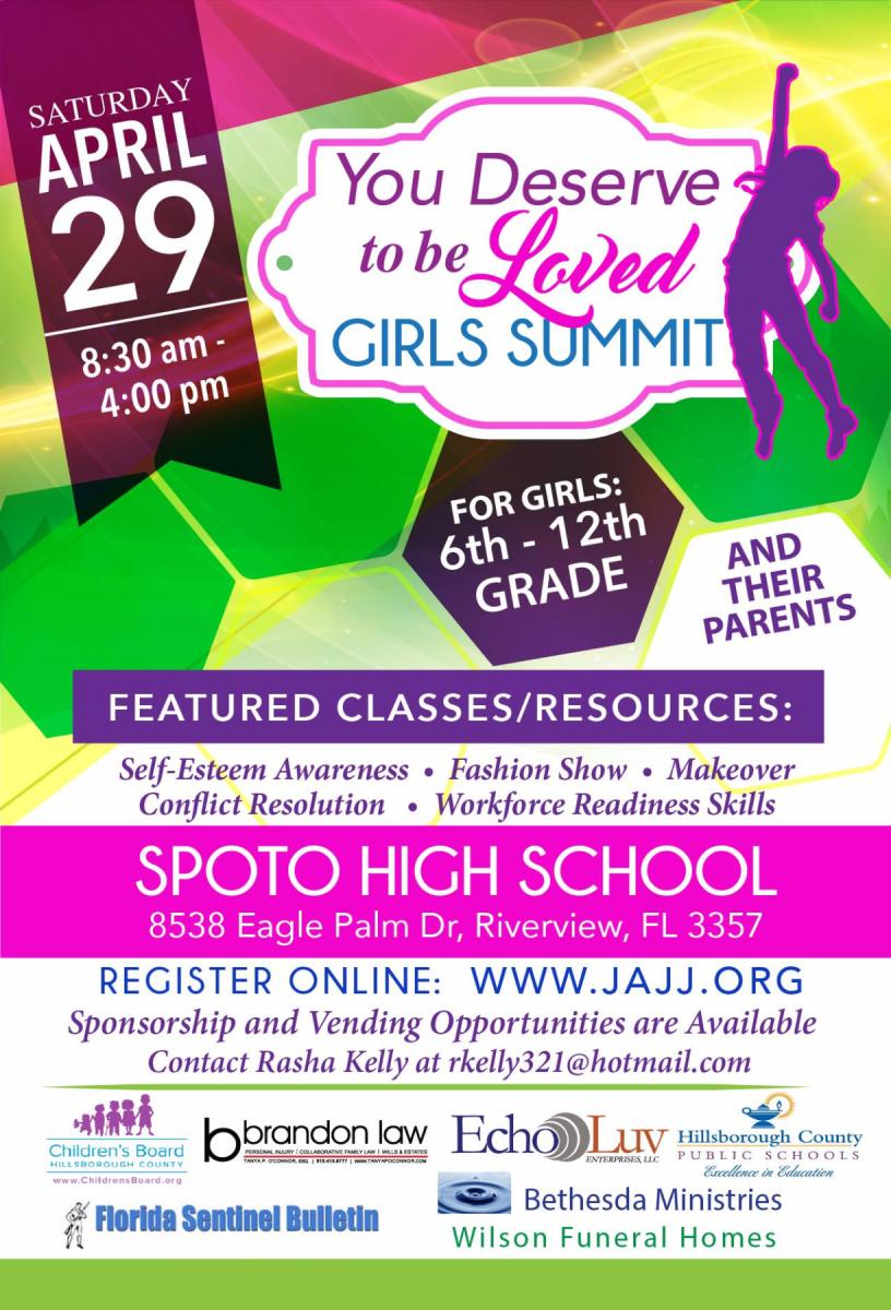 You Deserve to be Loved Girls Summit