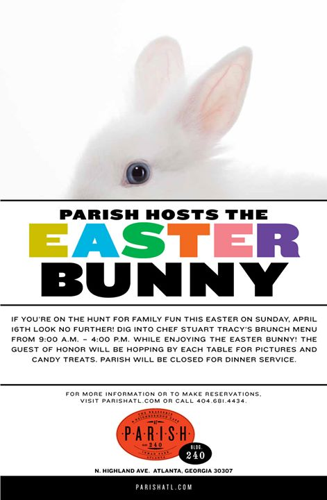 Parish Hosts the Easter Bunny!