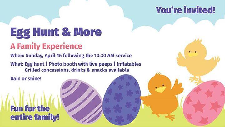 Egg Hunt & More!