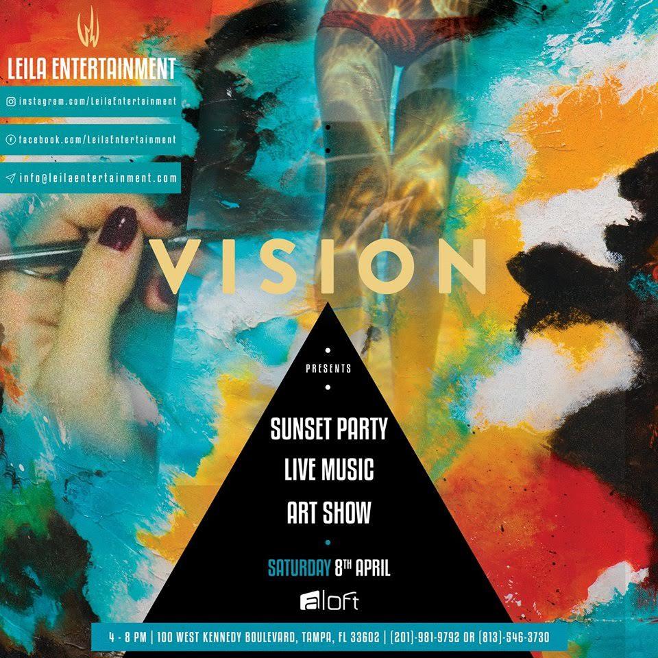 Vision Sunset Party | Aloft