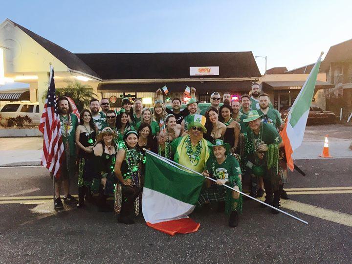 Celebrating James Joyce Irish Pub 20yrs Anniversary