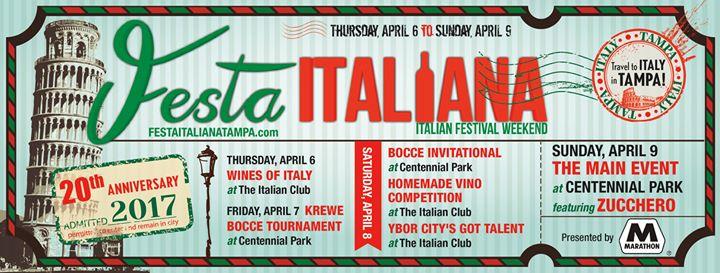 Festa Italiana Weekend: 20th Anniversary