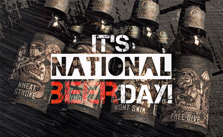 National Beer Day | Coppertail Brewery