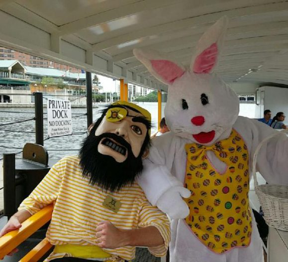 Easter Egg Scavenger Hunt | Pirate Water Taxi