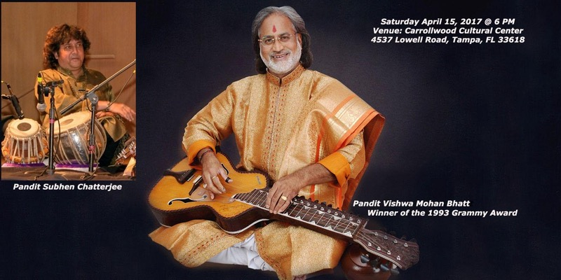 Vishwa Mohan Bhatt-grammy Award Winning Indian Classical Guitar Concert