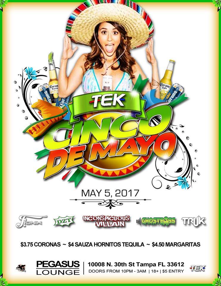 TEK's Cinco De Mayo Party
