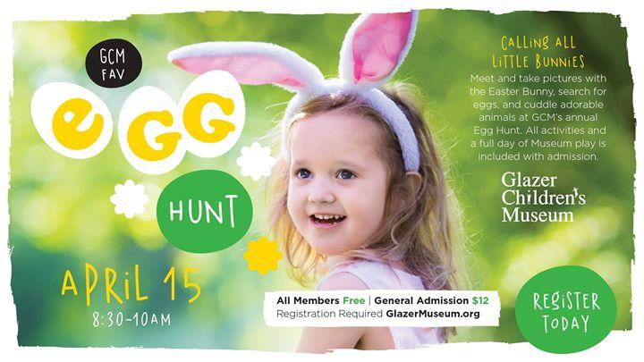 Glazer Children Musuem's Annual Easter Egg Hunt